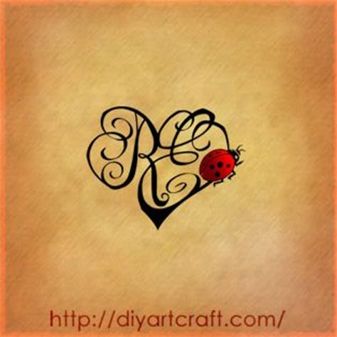 tattoo letters heart letters heart and ladybug beautiful tattoo tats