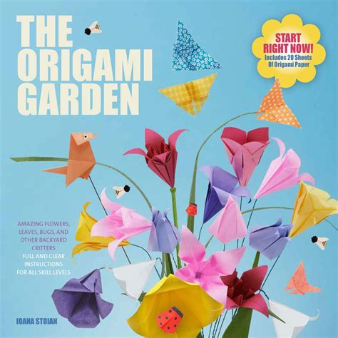 Origami Flower Book - raincoast books the origami garden