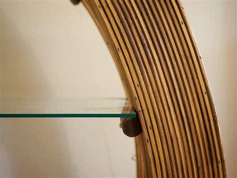 libreria rotonda libreria rotonda rattan bambu outlet pezzo unico on line