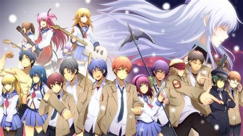anime wallpaper hd angel beats anime angel beats school uniform skirt wallpapers hd