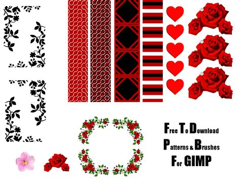 pattern brush gimp free custom made patterns and brushes for gimp by