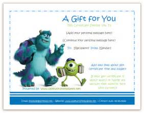 gift certificate templates soft templates