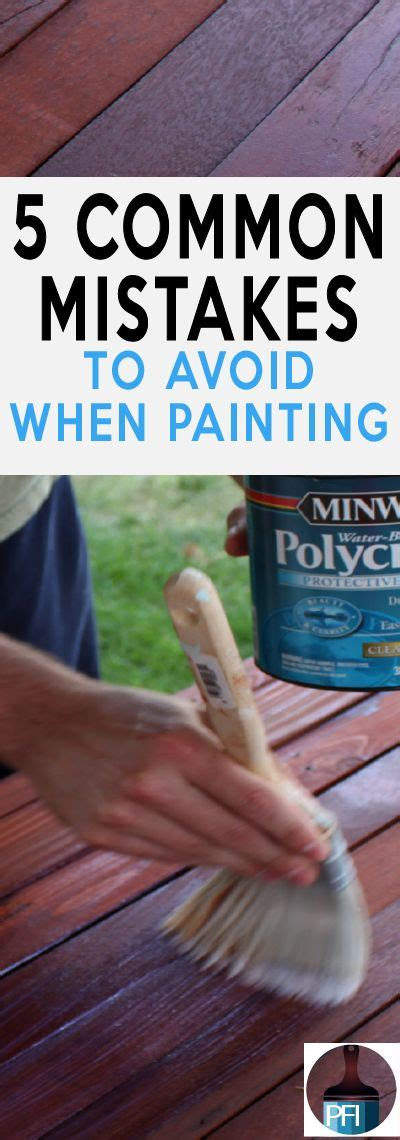 15 painting mistakes to avoid diy diy furniture 5 common mistakes made when painting
