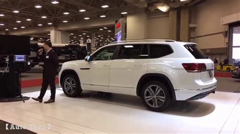 volkswagen atlas r line black volkswagen atlas r line at dfw auto show youtube