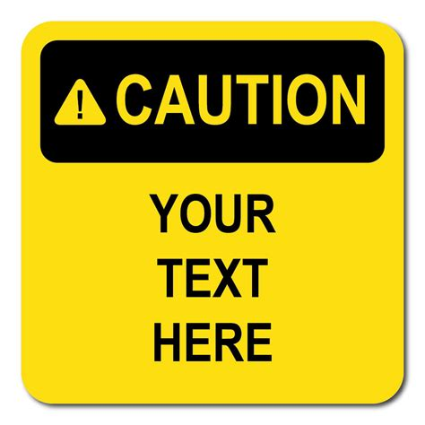 caution sign template printable warning signs cliparts co