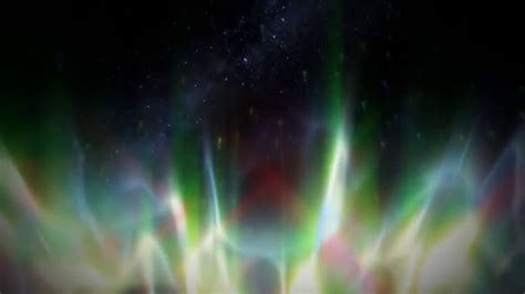 hours colorful northern lights fire hd