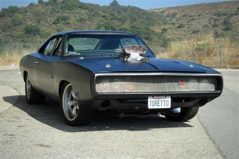 dom toretto challenger 1970 dodge charger fast and furious 4