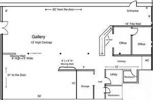 Art Gallery Floor Plans by Visualize Your Art Exhibition Using The Art Gallery Floor