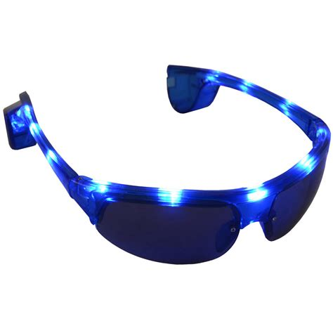 light up multi coloured led tinted glasses great for