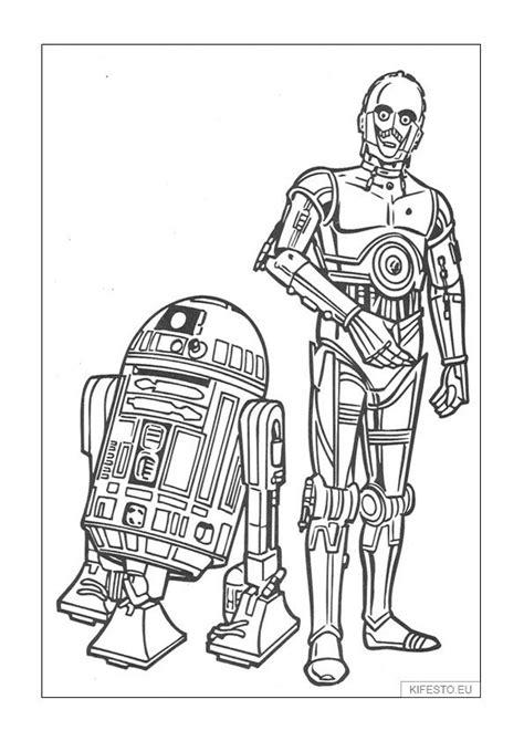 Csillagok háborúja kifestők és színezők. Star Wars