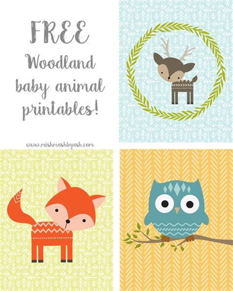 printable animal quotes free baby woodland animal printables so cute perfect for