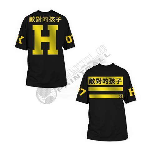 Tshirt Harajuku hk army t shirt harajuku black