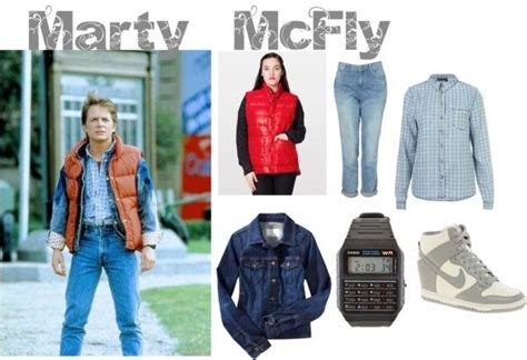 women s marty mcfly costume marty mcfly halloween costume for women back to the