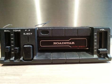 mini cassette player roadstar mini maxi quot auto stop quot stereo cassette player
