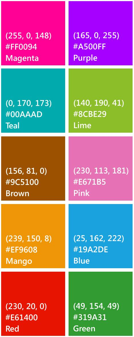 color code for transparent windows phone colors in rgb hex values creepyed s tech