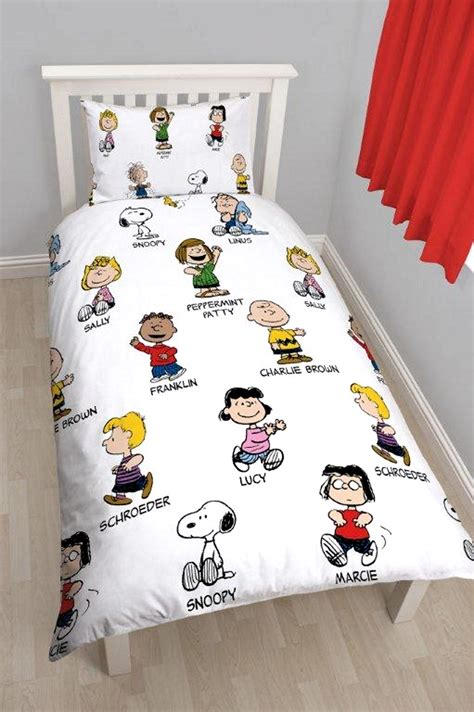 peanuts bedding peanuts snoopy single rotary reversible bedding set