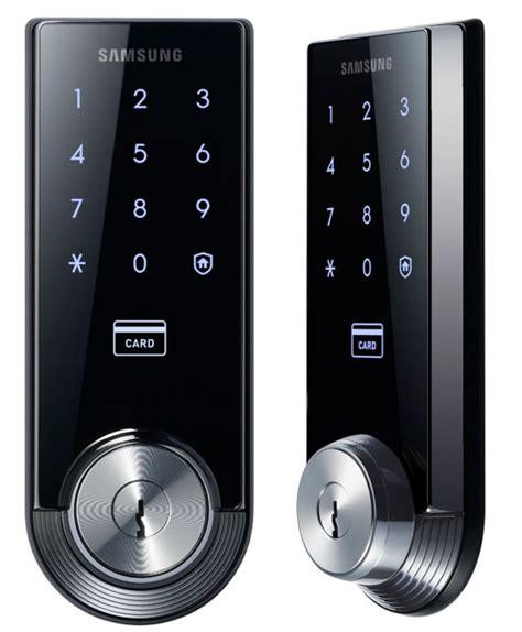 fancy  smart home meet samsung smart door lock shs