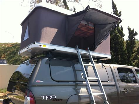 roof top tent awning hard shell tacoma roof top tent demo