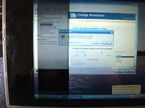 toshiba satellite laptop screen problem flickering