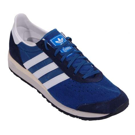 adidas marathon 85 adidas originals marathon 85 tri blue mens shoes from