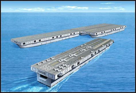 nuove portaerei americane portaerei modulare