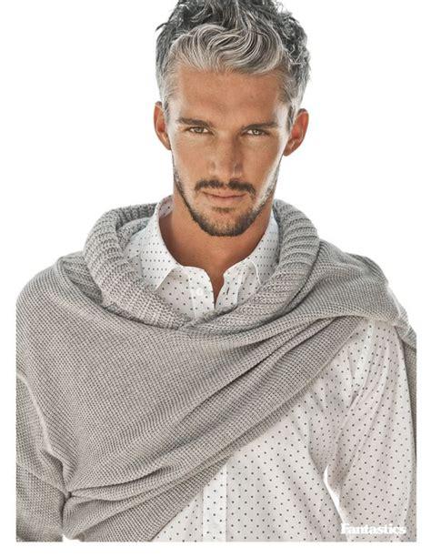color mens gray hair to be salt and pepper les jeunes hommes aussi succombent aux cheveux gris la