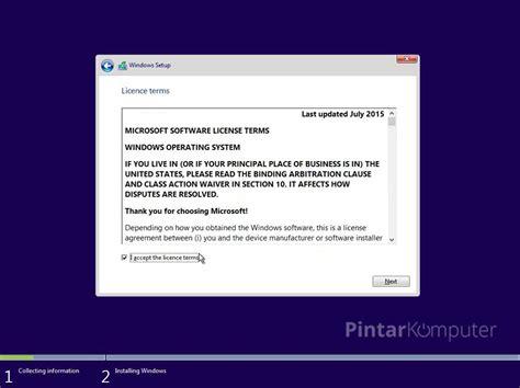 tutorial lengkap instal ulang windows 10 panduan lengkap tutorial cara install windows 10 beserta