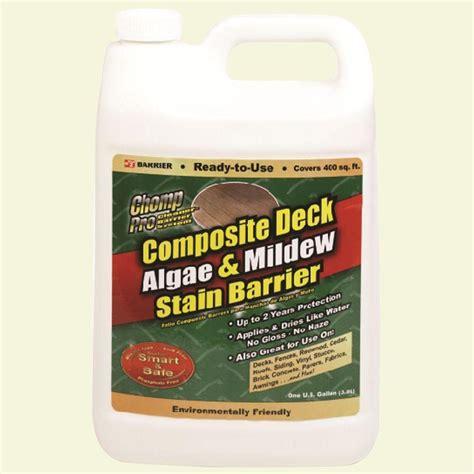 chomp  oz composite deck algae  mildew stain