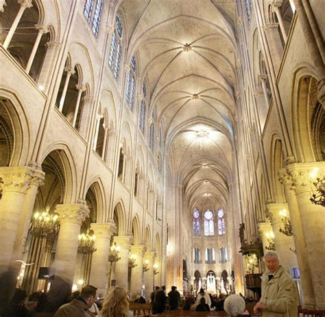 notre dame innen notre dame gotische kathedrale im herzen