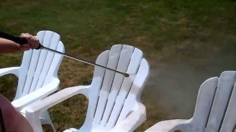 Cleaning Plastic Garden Furniture by How To Clean Your Outdoor Plastic Patio Furniture In Less