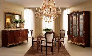 design dining room in classic style