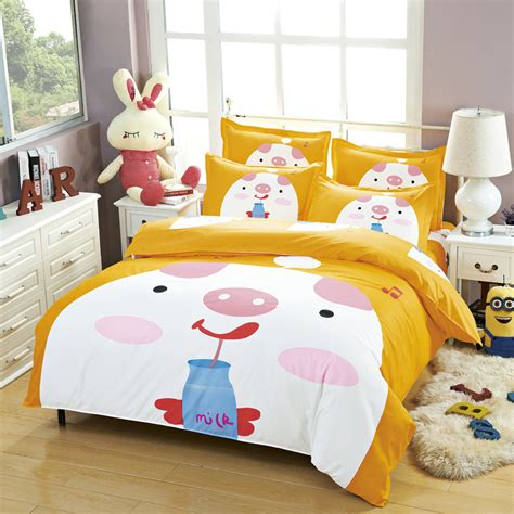 pig bedding popular pig bedding set buy cheap pig bedding set lots