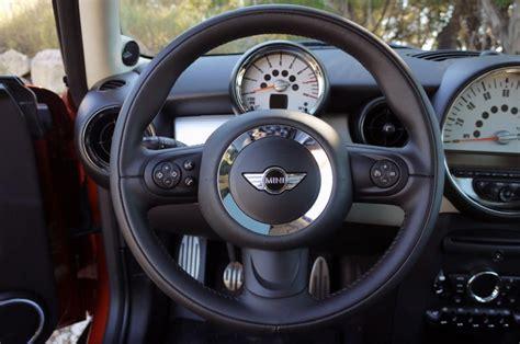 volante mini cooper s volante r56 inserts negros que no carbono