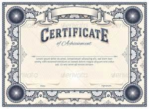 vector certificate templates blogographic