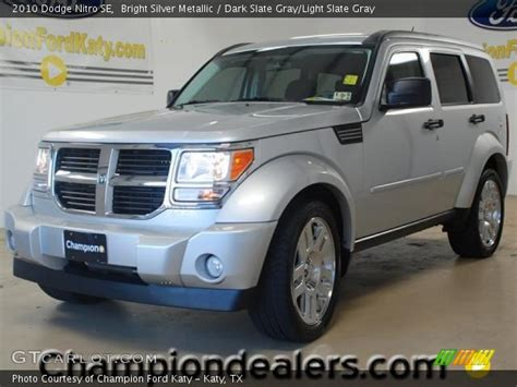 automotive service manuals 2010 dodge nitro interior lighting bright silver metallic 2010 dodge nitro se dark slate gray light slate gray interior