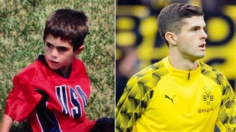 christian pulisic brackley how christian pulisic fell in love with football at non