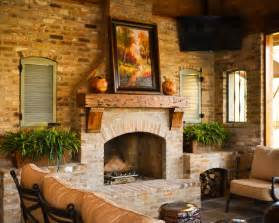 rustic fireplace ideas fireplace fascinating rustic patio with cool brick