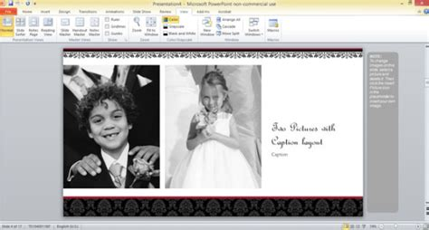 Free Wedding Photo Album Template For Powerpoint 2013 Photo Album Powerpoint Template