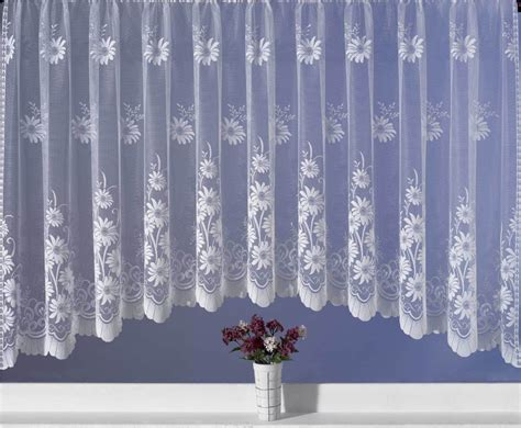 modern jardiniere net curtains net curtain set ebay