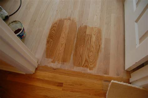 Installing Hard Wood Floors: Final