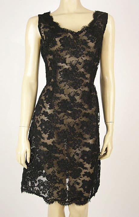 Dress Natal Brokat vintage black lace dress