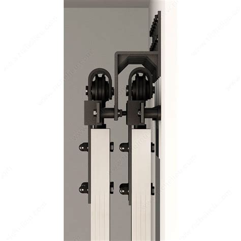 Wall Mount Sliding Door Hardware by Wall Mount Bracket For Barn Door Flat Bar Tracks