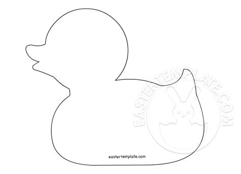 Duck Template Animal Templates Easter Template Animal Templates
