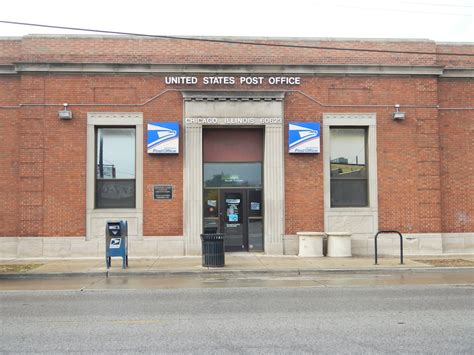 Post Office 60629 by Otis Grant Collins Chicago Illinois Post Office Post