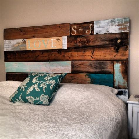 pinterest diy headboard diy headboard made from recycled barn wood and pallets