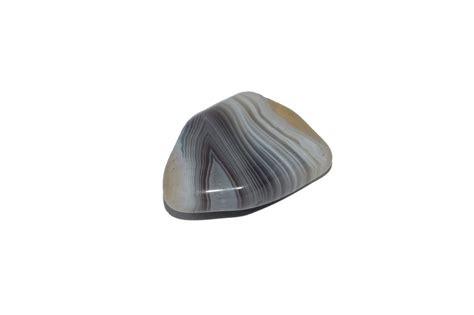 grey agate gemstone
