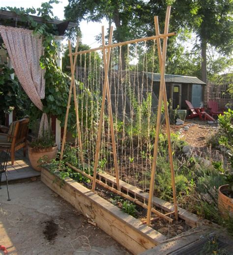 Vegetable Garden Trellis Ideas Yes We Do The Pinterest Thing Root Simple