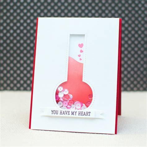 Cartes De Valentin by Une Carte Valentin Et Originale 67 Id 233 Es Diy