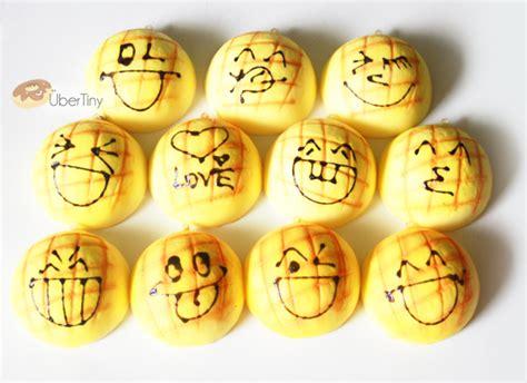 squishy medium kacang emoticon medium large melon bun squishy emoticon faces 183 uber tiny