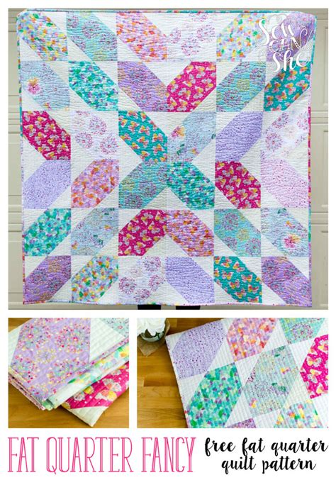 quilt pattern fat quarter fat quarter fancy free quilt pattern using 9 fat